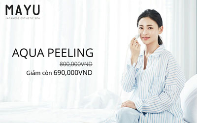Aqua peeling Mayu Spa District 1