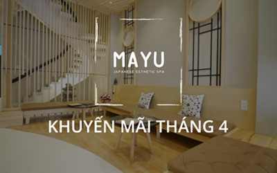 Mayu Spa District 1 Promotion